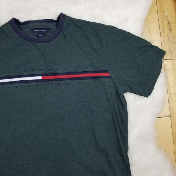 28b988b9b Tommy Hilfiger Shirts | Vintage Mens Tshirt Size Large | Poshmark
